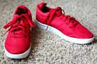 New K Swiss red knit aero trainer sneakers 9
