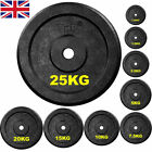 Cast Iron Weight Plates 1 Hole Disc for Dumbbell Barbell Bar Weights Plate