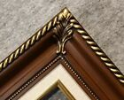 3.25 walnut brown Wood Antique Classic Picture Frame art gallery 296W 20x24