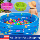 Inflatable Swimming Pool Center Backyard Family Swim Pool for Kids Garden 32x12