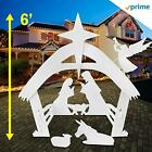 Outdoor Nativity Scenes Set For Christmas Decorations Outside Yard Nativity 6