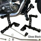 Gloss Black Forward Controls Fit For Harley Dyna Street Bob 2006 2017 FXDB Model