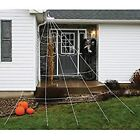Huge Giant Large Outdoor Yard 12 Rope Spider Web Halloween Scary Spooky Decor