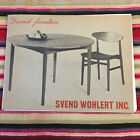 VTG 1961 Sven Wohlert Danish Modern Furniture Catalog Price List MCM 1960s 50s