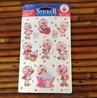Vintage Strawberry Shortcake Stickers 1996 New Sealed Package