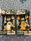 2 Vintage Green Bay Packers Pack Rats