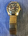 WORKING VTG KIENZLE LIFE 7 JEWELS BLUE FACE, BUT NEEDS NEW CRYSTAL