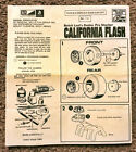 MPC ORIGINAL BUTCH LEAL PRO STOCK PLYMOUTH DUSTER 1752 INSTRUCTION SHEET