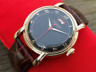 LeCoultre Power Reserve Automatic Swiss Watch Unusual Case Serviced Gold Filled
