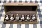 Pepper Shakers Louis E. Shaw Racine Wis.Vtg Cased Set Six