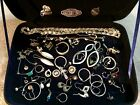STERLING SILVER MIXED LOT ANTIQUE OR MORE RECENT BROKEN SINGLE SCRAP OR REPAIR
