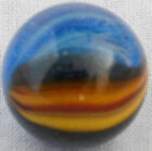 Master Marble, Sunburst, Clear Base, Blue-Yellow-Red,  5/8
