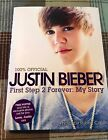 Justin Bieber  First Step 2 Forever Signed First US Edition 2010 Hardcover