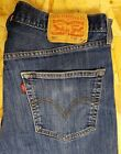 LEVI STRAUSS 501 MENS JEANS W34 L30 BUTTON FLY BLUE STRAIGHT 05