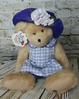 Boyds Bear Plush Heart to Heart Collection Karissa Stuffed Animal Doll Purple