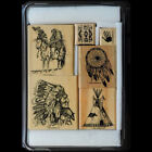 STAMPIN UP Dream Catcher STAMPS SET Rare RETIRED Native American Indian Horse