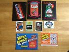 2011 TOPPS WACKY PACKAGES OLD SCHOOL 2 ENV 3 5X7 STICKER 2 CONCEPT CARDS MORE