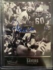Gale Sayers 1997 Upper Deck Legends On Card Autograph Rare Hot Look Bears