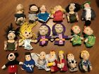 finger puppets Puppet Huge Bundle 19 Peter Pan Hook Micky Mouse Nativity Princes