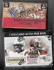 COMBO DEAL 2014 Topps Turkey Red box & press pass gameday gallery 2 auto's total