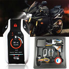 12V Anti theft 2Way PKE Moped Scooter Alarm Immobilizer System Remote Start Kill