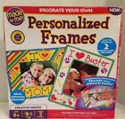 Crafters Made By Me Personalized Frames Set NIB created for kids