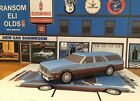 PAPERCRAFT 1977 Oldsmobile Custom Cruiser station wagon Paper Model Car EZU-make