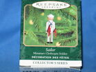Hallmark Ornament - Miniature Sailor Clothespin Soldier Patriotic