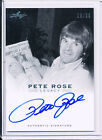 2011 LEAF Legacy Pete Rose BLUE autograph 28 30 REDS A-20 Certified On Card REDS