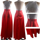 US Elegant Formal Evening Bridesmaid Dresses Party Ball Prom Gown Sequin Dress