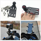 Motorcycle Brake/Clutch Reservoir Cover Mount Base 1'' Ball For Camera Cellphone