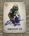 ROBERT GRIFFIN III BAYLOR BEARS HEISMAN SIGNED 2012 UPPER DECK SP AUTHENTIC CARD