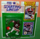 1990 ERIC METCALF #21 Cleveland Browns Rookie NM Starting Lineup + 1989 card
