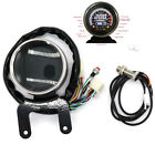 Multifunction 12V Motorcycle Speedometer 12000RPM Tacho Odometer Indicator Light