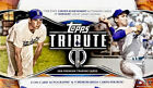 2018 Topps Tribute Factory Sealed Hobby Box THREE Auto's & 3 RELICS per Box!