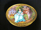 Gamet France Footed Bronze and Enamel Jewelry Box - 1900-1940 (#399)