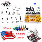 Full Set Fairing Bolt Kit Aluminum CNC For Honda CBR600F3 F4 F4i VFR750 800 1000