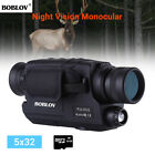 5x32 Optics 16GB Infrared Night Vision Monocular DVR Auto Power Off for Hunting