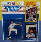 1990 NICK ESASKY Boston Red Sox - FREE s/h - sole Starting Lineup 1983 Reds card