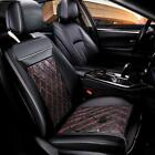 12v Auto Car Seat Cushion Heated Cover Heating Warmer Pad Adjustable Heater Us