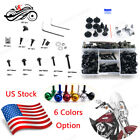 Full Set Fairing Bolt Screws Kit For Yamaha YZF R1 R6S R3 FZ6R XJR1300 FJR1300