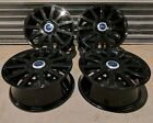 17 INCH GENUINE FORD FIESTA ST150 ALLOY WHEELS GLOSS BLACK