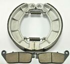 HONDA Magna 750 VF750C VF750C2 (1997-03) BONDED FRONT PADS & REAR BRAKE SHOES