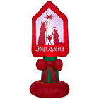 NEW CHRISTMAS OUTDOOR NATIVITY INFLATABLE RELIGIOUS AIRBLOWN DECORATION US