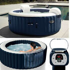 4 Person Hot Tub Spa Jacuzzi Inflatable Cover Heated Massage Bubble Outdoor Pool