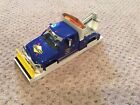 1996 Sunoco Ultra 94 Tow Truck with Snow Plow Die Cast w/Sound Lights Boom Winch