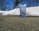 Free Shipping Very Nice Whitehall Colony Footed Blue Iced Tea Tumbler 6