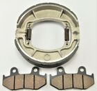 Front Pads and Rear Brake Shoes For HONDA XL600R (1983-1987)