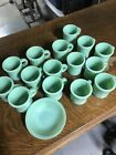 Fire King Jadeite Coffee Mug Cup As Is lot Of 15