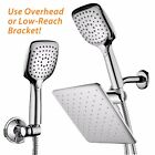HotelSpa 105 Inch Rain Shower Head Combo with Convenient Push Button